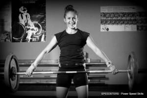 Speedsters-valmentaja Laura Niemelä